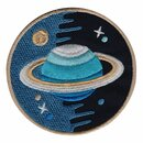 Aufnäher - Saturn - Planet - Patch